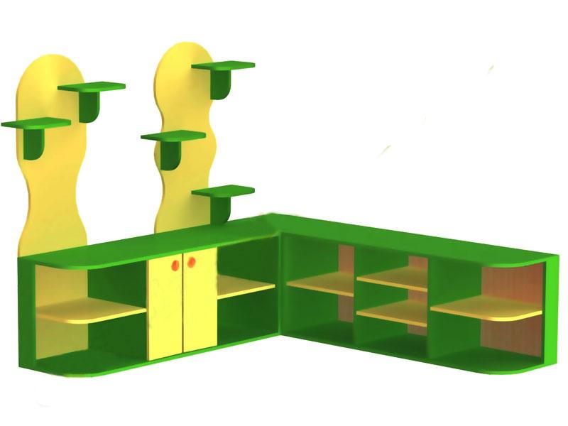 Шкаф для уголка живой природы 1.